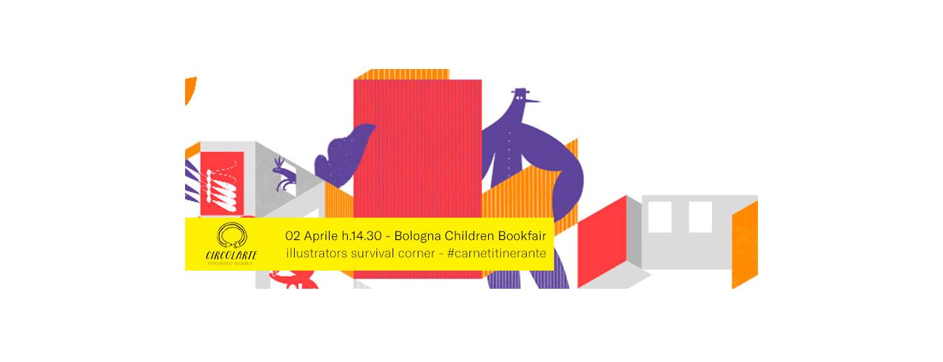 Bologna Children's Book Fair2019 Carnet itinerante_ circolarte